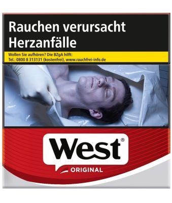 West West Red Original bei Tabakring | Ihr Shop für Tabakwaren und E-Zigaretten kaufen