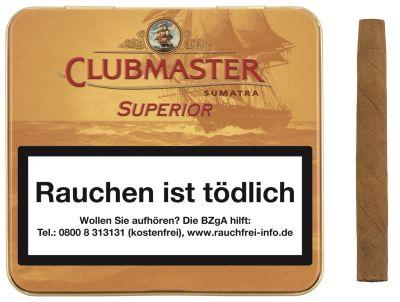Clubmaster Clubmaster 161 Superior Sumatra Gold bei Tabakring | Ihr Shop für Tabakwaren und E-Zigaretten kaufen