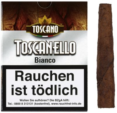 Toscano Toscano Toscanello Bianco bei Tabakring | Ihr Shop für Tabakwaren und E-Zigaretten kaufen