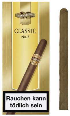 Handelsgold Handelsgold 461 Gold Label Classic No.3 bei www.Tabakring.de kaufen