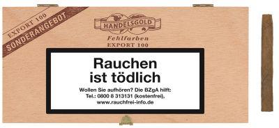 Handelsgold Handelsgold 100 Fehlfarben Export Sumatra bei www.Tabakring.de kaufen