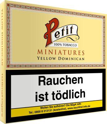 Nobel Petit Nobel Petit Miniatures Yellow Dominican bei www.Tabakring.de kaufen