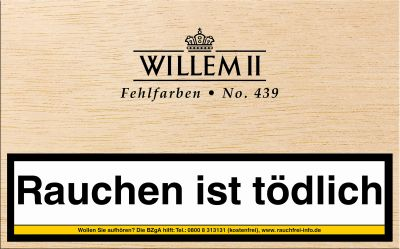 Scandinavian Willem II Fehlfarben 439 Sumatra bei www.Tabakring.de kaufen