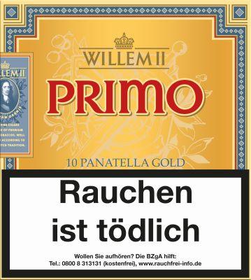 Scandinavian Willem II Primo Panatella bei www.Tabakring.de kaufen