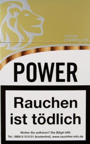 Power Zigarillos gold Filter-Cigarillos (10x17 Stück) 1,95 € | 19,50 €