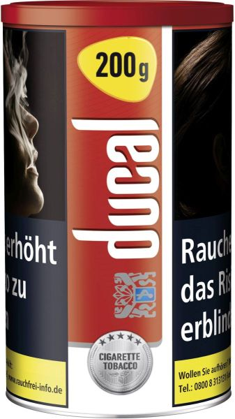 Ducal Zigarettentabak Classic Cigarette Tobacco Red (Dose á 200 gr.)