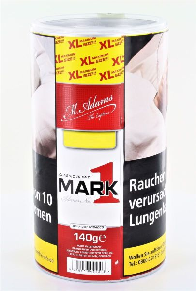 Mark 1 Zigarettentabak Classic Blend (Dose á 140 gr.)
