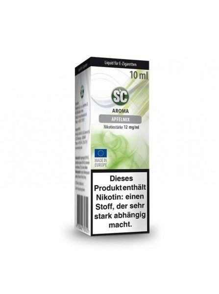 SC Liquid Apfelmix 12mg Nikotin/ml (10 ml)