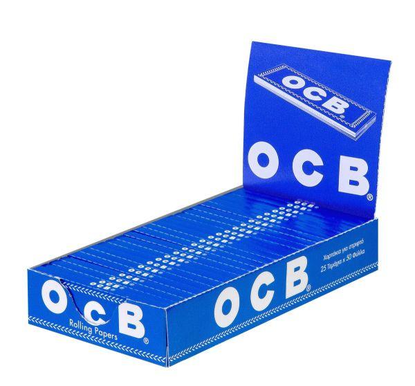 OCB Blau Papier (25 x 50 Stück)