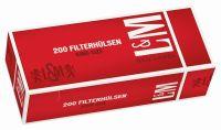 L&M Red Label King Size Zigarettenhülsen (5 x 200 Stück)