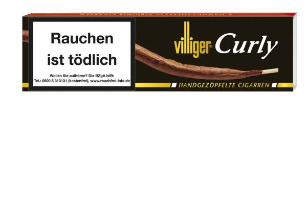 Villiger Zigarren Curly (Schachtel á 6 Stück)