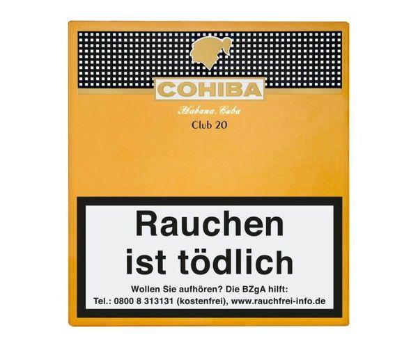 Cohiba Zigarren Club (Packung á 20 Stück)