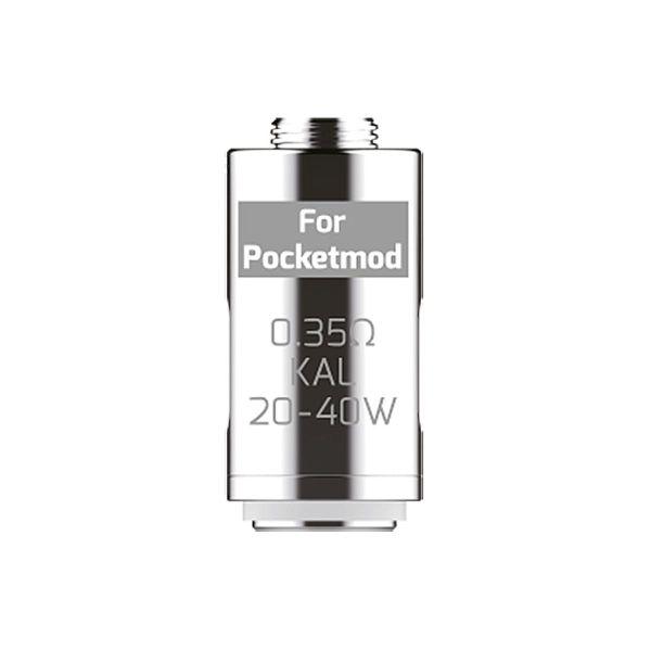 Innokin Ersatzverdampferkerne für Pocketmod und Pocketbox 0,35 Ohm DTL 5er (Packung á 5 Stück)