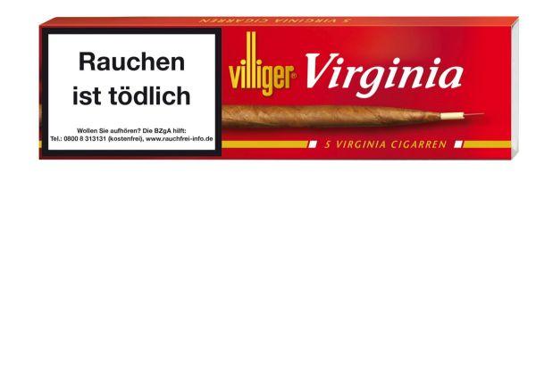 Villiger Zigarren Virginia (Schachtel á 5 Stück)