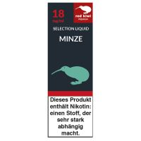 Red Kiwi eLiquid Selection Minze 18mg Nikotin/ml (10 ml)