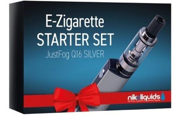 NikoLiquids Easy Starter Kit Just Fog Q16  Silber