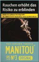 Manitou Zigaretten Original Org Blend No. 3 Sky (10x20er)