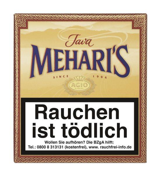 Meharis Zigarillos Agio Java (Schachtel á 20 Stück)