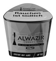 Alwazir Shishatabak Shisha Tabak Break Me Bad No.18 (Dose á 250 gr.)