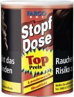Fargo Zigarettentabak Stopf Dose Rot (Dose á 95 gr.)