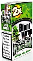 Blunt Wrap Papier Apple Martini (25 x 2 Stück)