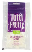 Tutti Frutti Blueberry Mint Slim Size Zigarettenfilter 6mm