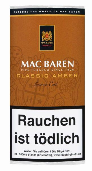 Mac Baren Pfeifentabak Classic Amber (Pouch á 50 gr.)