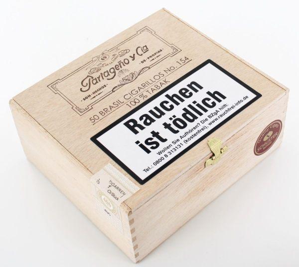 Partageno Zigarren #154 Brasil (Packung á 50 Stück)