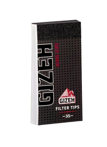 Gizeh Black Filter Tips Regular (24 x 35 Stück)