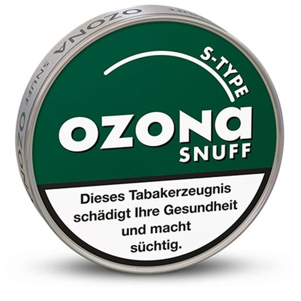Ozona Schnupftabak S-Type Snuff 5g (10 x 5 gr.)