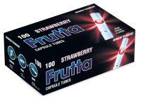 Frutta Strawberry Click Filterhülsen Zigarettenhülsen (Schachtel á 100 Stück)