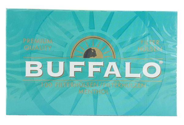 Buffalo Menthol Hülsen (5 x 100 Stück)