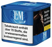L&M Volumentabak Volume Tobacco Blue (Dose á 45 gr.)