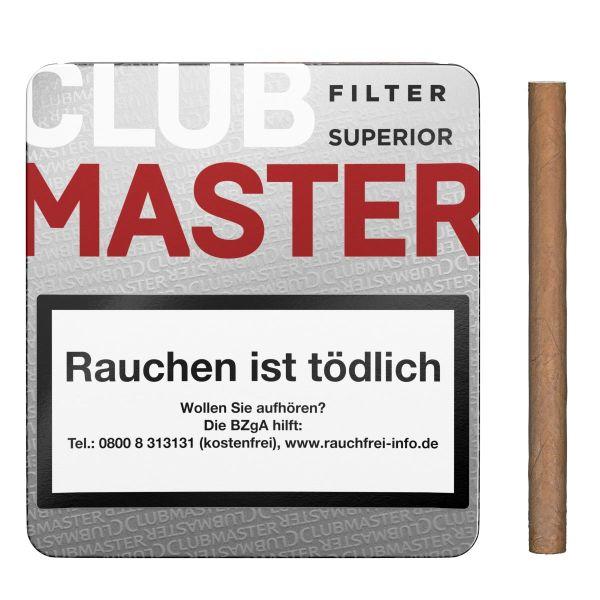 Clubmaster Zigarillos 230 Superior Filter Red (Schachtel á 20 Stück)