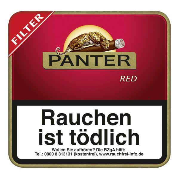 Panter Zigarillos Red Filter (Schachtel á 20 Stück)