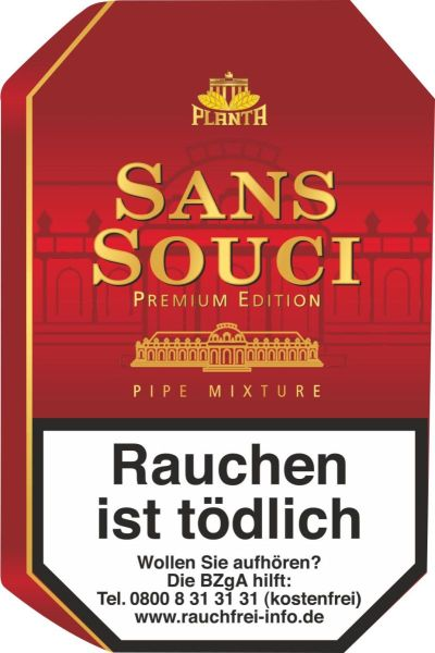 Planta Pfeifentabak Sans Souci (Dose á 100 gr.)