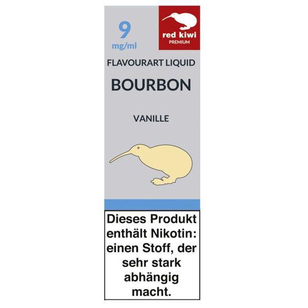 Red Kiwi eLiquid Bourbon Vanille 9mg Nikotin/ml (10 ml)
