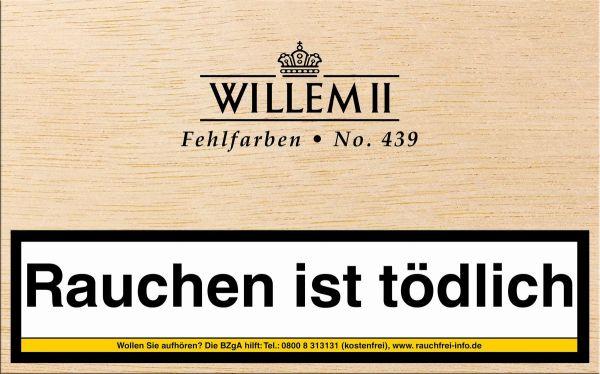Scandinavian Zigarillos Willem II Fehlfarben 439 Sumatra (Packung á 50 Stück)