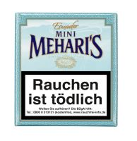 Meharis Zigarillos Agio Mehari's Mini Ecuador (Schachtel á 20 Stück)
