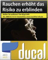 Ducal Zigaretten Gold Cigarettes (5x38er)