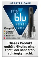 myblu E-Zigarette Starter Pack Intense Touch (18mg/ml)
