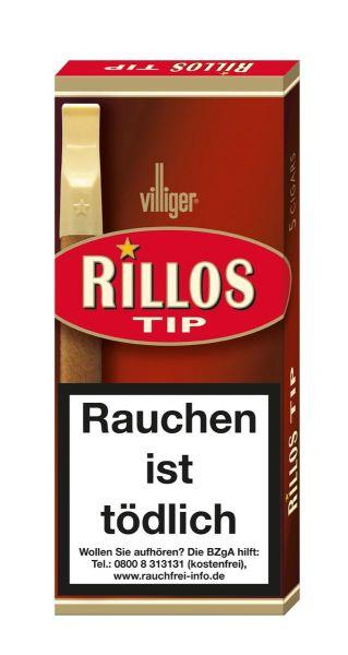 Villiger Zigarillos Rillos TIP (Schachtel á 5 Stück)