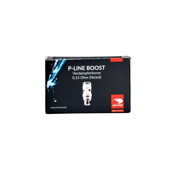 Red Kiwi Ersatzverdampferkerne für P-Line Boost Nickel 0,15 Ohm (Packung á 3 Stück)