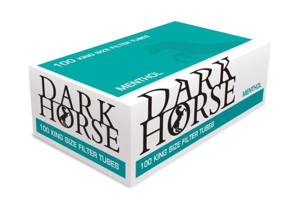 Dark Horse Menthol Zigarettenhülsen (Packung á 100 Stück)