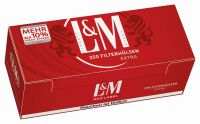 L&M Red Label Extra Zigarettenhülsen (4 x 250 Stück)