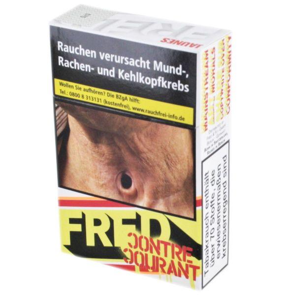 Fred Zigaretten Jaunes gelb (10x20er)