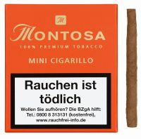 Montosa Zigarren Mini Cigarillo (Schachtel á 20 Stück)