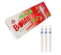 Fresh Bomb Duo Strawberry Mint Click Hülsen (100 Stück)