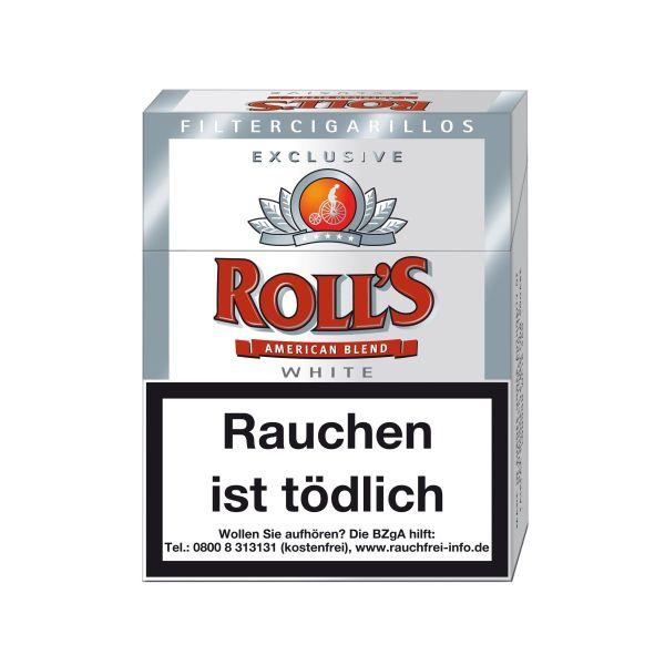 Villiger Zigarillos Rolls Exclusive White (8x23 Stück) 3,60 €   28,80 €