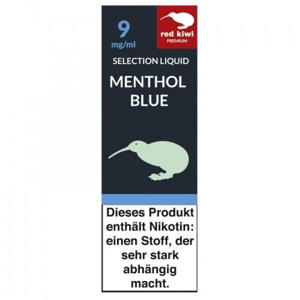 Red Kiwi eLiquid Selection Menthol Blue 9mg Nikotin/ml (10 ml)